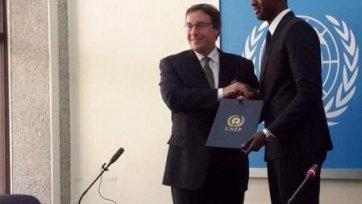 Яя Туре стал послом доброй воли ООН