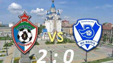 «СКА-Энергия» обыгрывает «Волгу» и выходит в 1/8 финала Кубка России