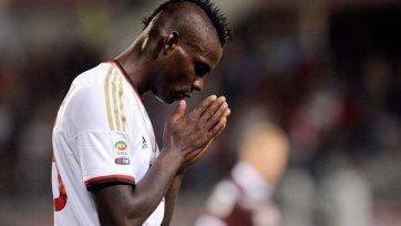 В «Милане» наложили вето на трансфер Балотелли