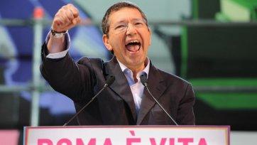 Мэр Рима готов раздеться в случае чемпионства «Ромы»