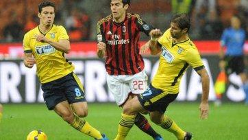 «Милан» делит очки с «Лацио»