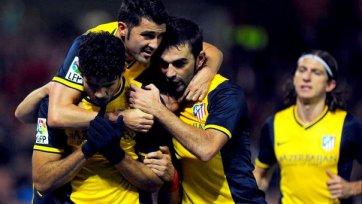 Два забитых пенальти и «Атлетико» продолжает погоню за «Барселоной»