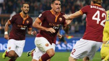 «Рома» - есть десятая победа кряду
