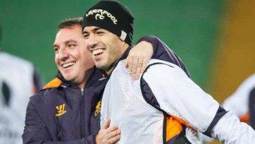 Роджерс: «Мы бы ни за, что не отпустили Суареса в «Арсенал»