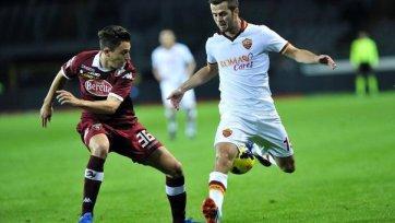 «Рома» оступается в Турине