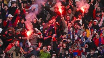 Несколько фанатов ЦСКА задержаны в Копенгагене