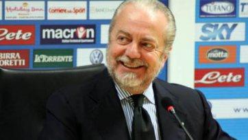 Де Лаурентис: «Надеюсь, матч с «Марселем» пройдет в мирной обстановке»