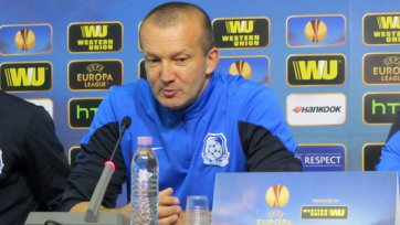 Григорчук: «Намерены взять реванш у «Лудогорца»