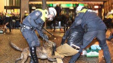 Фанаты «Селтика» отправили в больницу восемь полицейских
