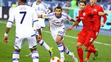 «Динамо» делает еще один шаг к плей-офф Лиги Европы