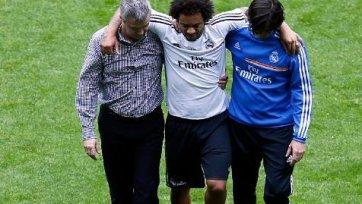 Марсело получил травму и выбыл на две недели