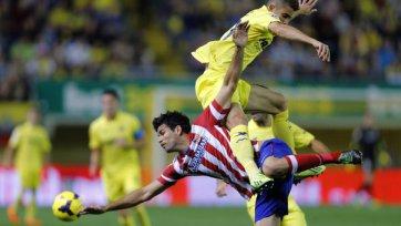 «Вильярреал» отбирает очки у «Атлетико»