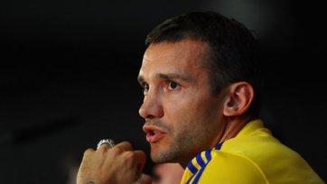 Шевченко: «Украине не хватает таранного форварда»