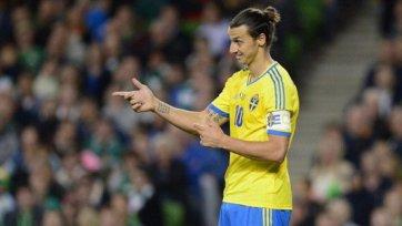 Ибрагимович – лучший футболист Швеции