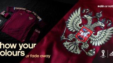 Adidas представил форму России и Германии на ЧМ-2014 года