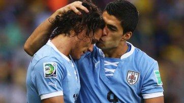 Уругвай уничтожает Иорданию