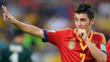 Вилья: «В сборной Испании серьезнейшая конкуренция»
