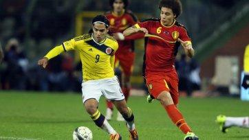 Радамель Фалькао помог Колумбии обыграть Бельгию