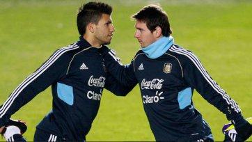 Месси хочет видеть Агуэро в «Барселоне»