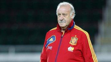 Дель Боске в сборной Испании до 2016-го года