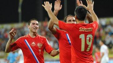 Сборные России и Сербии сыграли вничью