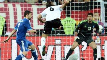 Сборные Италии и Германии сыграли вничью