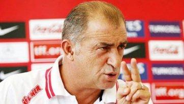 Фатих Терим продлил свой контракт со сборной Турции