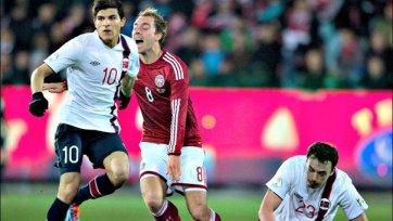 Эриксен получил травму в матче за сборную