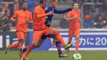 Япония вырывает ничью у голландцев