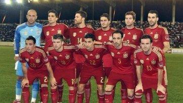 Сборная Испании одолела Экваториальную Гвинею