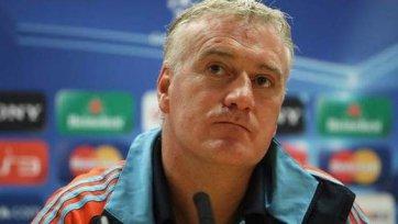 СМИ: Дешам сделает 5-6 изменений по сравнению с первым матчем