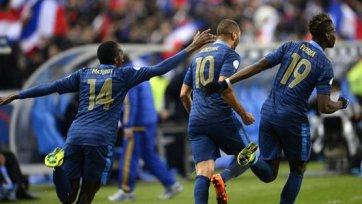 Франция взяла реванш у сборной Украины