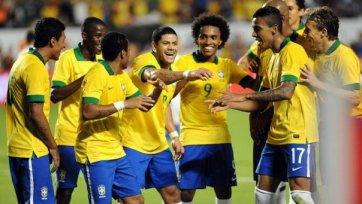 Бразилия обыгрывает Чили. Халк вновь забивает