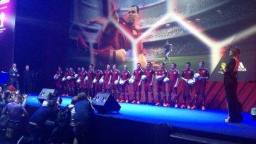 Игнашевич стал главным лицом на презентации новой формы сборной России