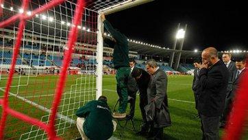 Ворота в матче «Альмерия» - «Реал» были на 6 сантиметров выше