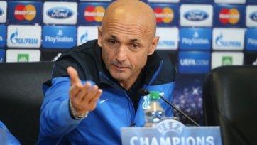 Лучано Спаллетти: «Спасибо, что рассказали о скором переходе Рязанцева»
