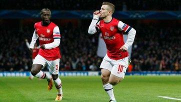 Дубль Уилшира – победа «Арсенала»