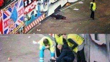 Во время матча «Аякс» - «Барселона» произошел несчастный случай