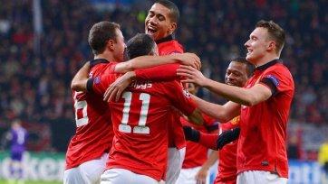 «Манчестер Юнайтед» унижает «Байер»