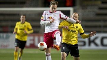 «Зальцбург» закрепил выход в плей-офф победой