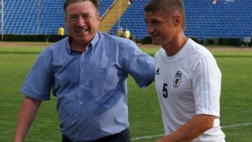 Езерский: «Пока не собираюсь завязывать с футболом»