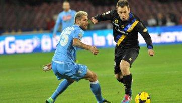 «Кассано» травмировался в игре с «Болоньей»