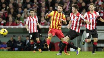 «Барса» терпит первое поражение в Ла Лиге