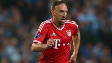 «Бавария» в кубке сыграет без Рибери