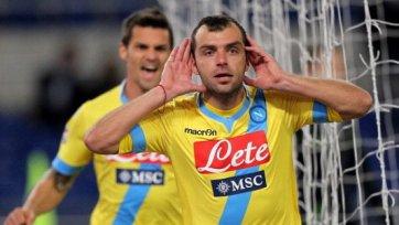 Град голов в матче «Лацио» - «Наполи»