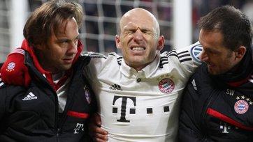 «Бавария» проходит «Аугсбург» и теряет Роббена