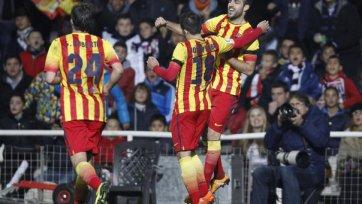 «Барселона» с крупным счетом обыграла «Картахену» в Кубке страны