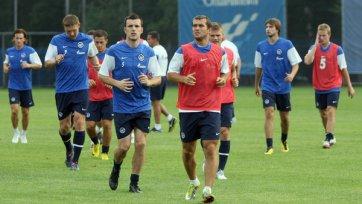 «Зенит» начал подготовку к матчу с «Аустрией»