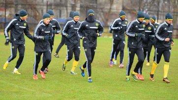 «Кубань» готовилась к матчу с «Валенсией» под проливным дождем