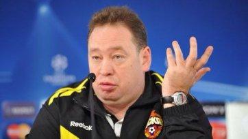 Слуцкий: «Справедливое удаление Дзагоева помешало нам победить»